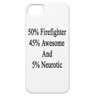 Neurótico 45 impresionante y 5 bombero de 50 funda para iPhone SE/5/5s