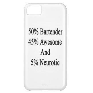 Neurótico 45 impresionante y 5 camarero de 50 carcasa iPhone 5C