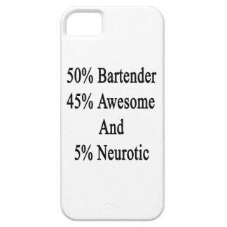 Neurótico 45 impresionante y 5 camarero de 50 funda para iPhone SE/5/5s