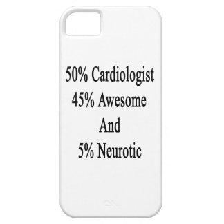 Neurótico 45 impresionante y 5 cardiólogo de 50 funda para iPhone SE/5/5s