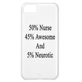 Neurótico 45 impresionante y 5 enfermera de 50 funda iPhone 5C