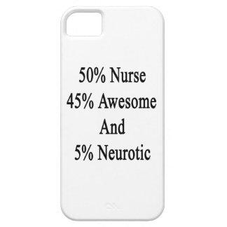Neurótico 45 impresionante y 5 enfermera de 50 funda para iPhone SE/5/5s