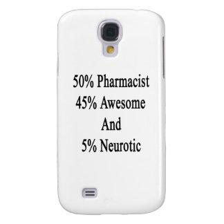 Neurótico 45 impresionante y 5 farmacéutico de 50 carcasa para galaxy s4