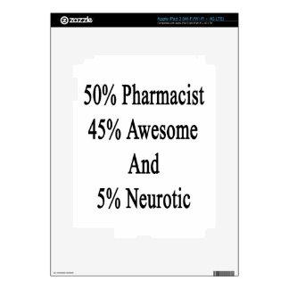 Neurótico 45 impresionante y 5 farmacéutico de 50 iPad 3 pegatinas skins