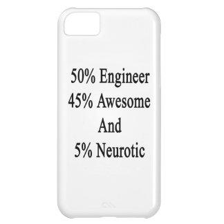 Neurótico 45 impresionante y 5 ingeniero de 50 funda iPhone 5C