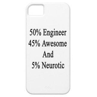 Neurótico 45 impresionante y 5 ingeniero de 50 funda para iPhone SE/5/5s
