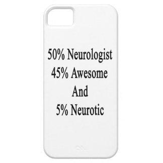 Neurótico 45 impresionante y 5 neurólogo de 50 funda para iPhone SE/5/5s