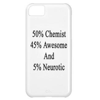 Neurótico 45 impresionante y 5 químico de 50 funda para iPhone 5C
