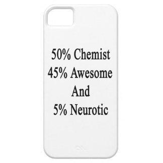 Neurótico 45 impresionante y 5 químico de 50 funda para iPhone SE/5/5s