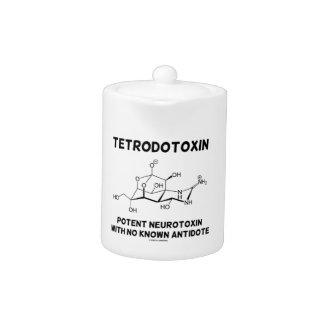 Neurotoxina potente del tetrodotoxina sin el antíd