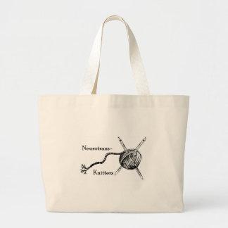 Neurotrans-Knitters bag