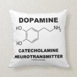 Neurotransmisor de la catecolamina de la dopamina almohadas