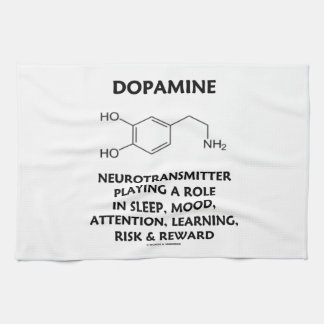 Neurotransmisor de la dopamina (molécula química) toallas