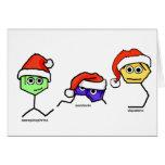 Neurotransmisores en los gorras de Santa Tarjeta