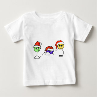 Neurotransmitters in Santa Hats Baby T-Shirt