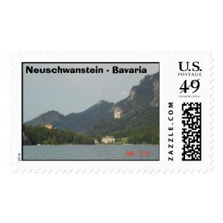 Neuschwanstein - Bavaria Postage