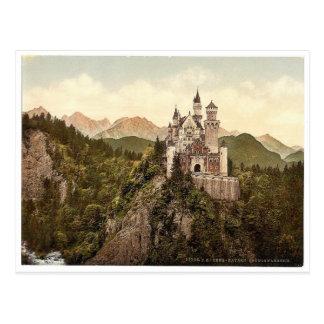 Neuschwanstein, Baviera superior, Alemania Postal