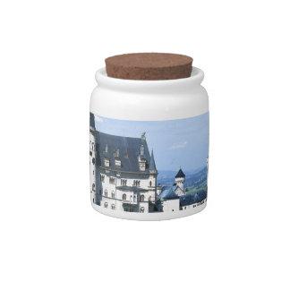 Neuschwanstein Candy Jar