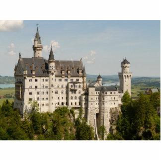 Neuschwanstein - castillo de hadas esculturas fotográficas