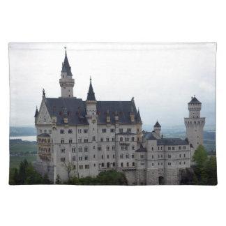 Neuschwanstein Castle 2 Cloth Place Mat