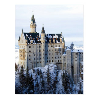 Neuschwanstein Castle 4 Postcard