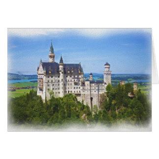 Neuschwanstein Castle Art Card