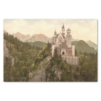 """Neuschwanstein Castle, Bavaria, Germany 10"""" X 15"""" Tissue Paper"""