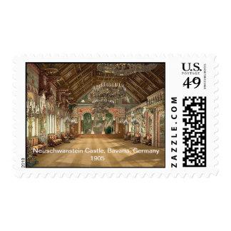 Neuschwanstein Castle,  Bavaria, Germany 1905 Postage