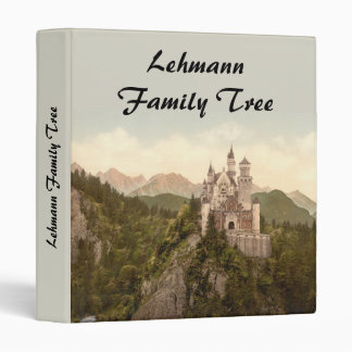 Neuschwanstein Castle, Bavaria, Germany Binder