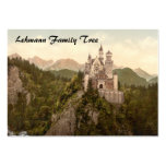 Neuschwanstein Castle, Bavaria, Germany Large Business Cards (Pack Of 100)