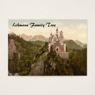 Neuschwanstein Castle, Bavaria, Germany Business Card
