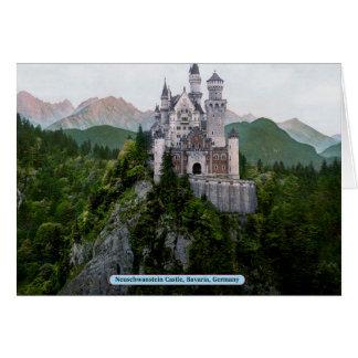 Neuschwanstein Castle, Bavaria, Germany Card