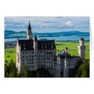 Neuschwanstein Castle - Bavaria - Germany Card