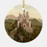 Neuschwanstein Castle, Bavaria, Germany Ceramic Ornament