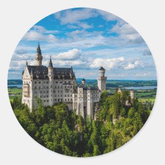 Neuschwanstein Castle - Bavaria - Germany Classic Round Sticker