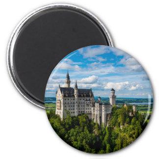 Neuschwanstein Castle - Bavaria - Germany Magnet