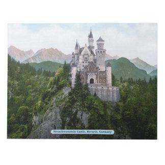 Neuschwanstein Castle, Bavaria, Germany Notepad