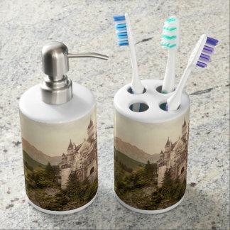 Neuschwanstein Castle, Bavaria, Germany Bathroom Set