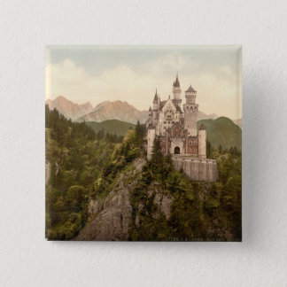 Neuschwanstein Castle, Bavaria, Germany Pinback Button
