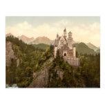 Neuschwanstein Castle, Bavaria, Germany Postcard