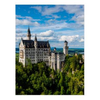 Neuschwanstein Castle - Bavaria - Germany Postcard