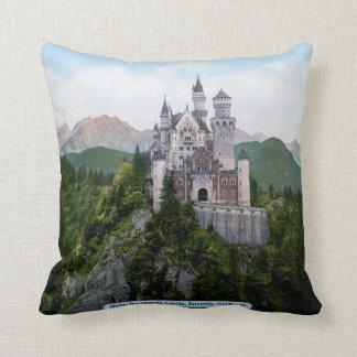 Neuschwanstein Castle, Bavaria, Germany Throw Pillow