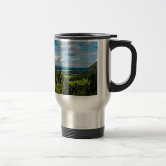 Neuschwanstein Castle - Bavaria - Germany Travel Mug