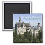 Neuschwanstein Castle Bavaria Travel Fridge Magnet