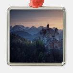 Neuschwanstein Castle, built late 1800's by Metal Ornament