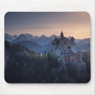 Neuschwanstein Castle, built late 1800's by Mouse Pad