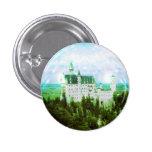 Neuschwanstein Castle - Fairy Dust Photo Edit 1 Inch Round Button
