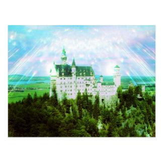 Neuschwanstein Castle - Fairy Dust Photo Edit Postcard