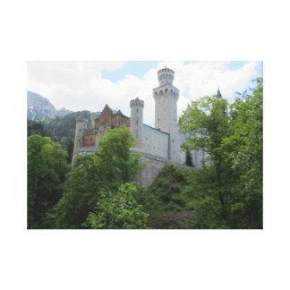 Neuschwanstein Castle - Germany Canvas Prints