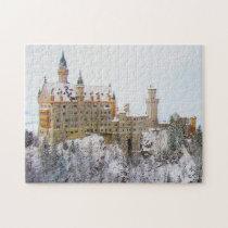 Neuschwanstein Castle Germany. Jigsaw Puzzle